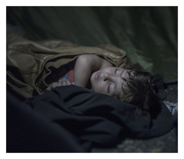 EXCLUSIVE, SPECIAL FEES APPLY. Must Credit - Magnus Wennman/Rex Mandatory Credit: Photo by Must Credit - Magnus Wen/REX Shutterstock (2853832l) Mahdi, 1.5, asleep on the ground in Horgos, Serbia Magnus Wennman: Where the children Sleep - 27 Sep 2015 Mahdi is one and one half years old. He has only experienced war and flight. He sleeps deeply despite the hundreds of refugees climbing around him. They are protesting against not being able to travel further through Hungary. On the other side of the border hundreds of police are standing. They have orders from the Primary Minister Viktor Orban to protect the border at every cost. The situation is becoming more desperate and the day after the photo is taken, the police use tear gas and water cannons on the refugees.