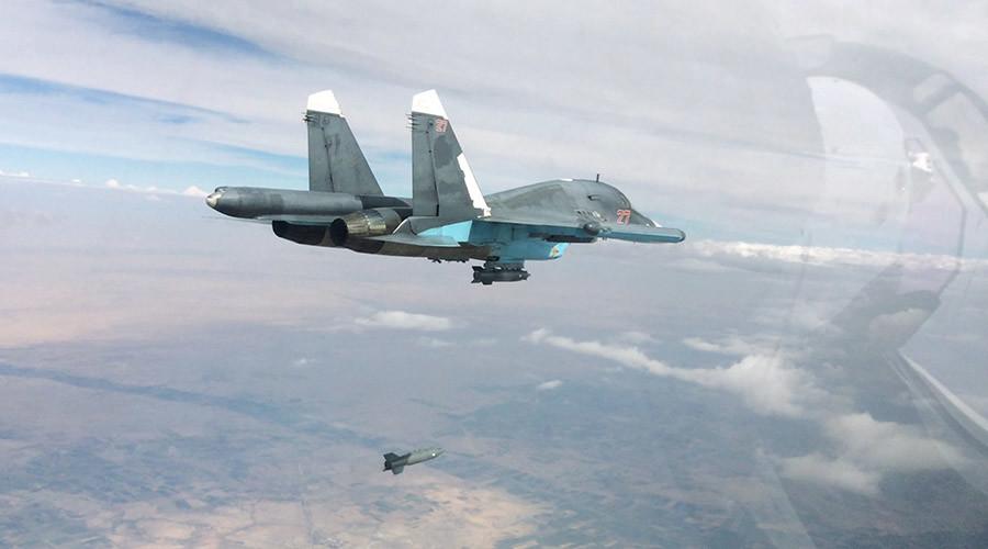 5618efddc46188e55f8b4574 روسیه: در ۲۴ ساعت ۲۹ مقر داعش را نابود کردیم