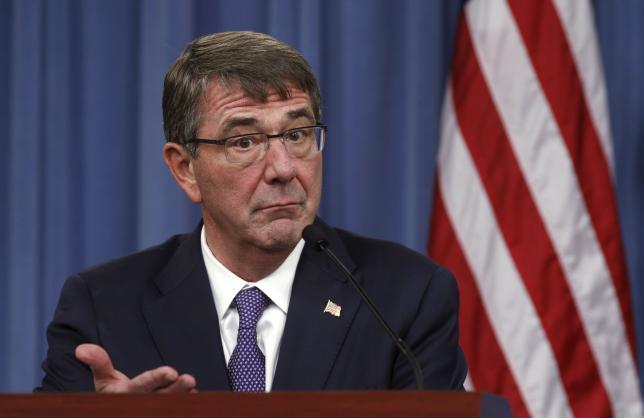 کارتر: آمریکا ۲۰۰ نیروی جدید به سوریه اعزام می کند