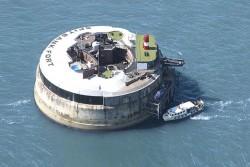 هتل جزیره ای در انگلیس که قبلا محل نگهداری مهمات بوده است