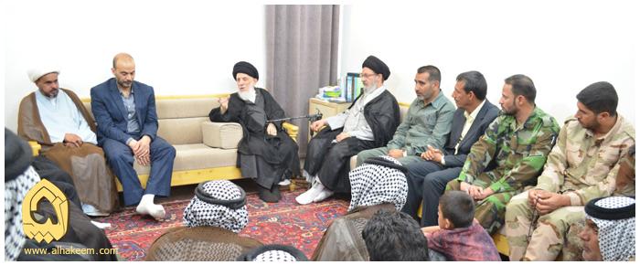 مردمی حضرت آیت الله حکیم: در صورتی که بسیج مردمی در برابر داعش خود خوانده نمی ایستاد، توازن اقتدار و قدرت در منطقه به هم می خورد