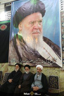 گزارش تصویری ۲۵: حضور علما و شخصیت ها در مراسم بزرگداشت حضرت آیت الله موسوی اردبیلی در تهران