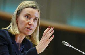 موگرینی: اتحادیه اروپا قصد اعمال تحریمهای جدید علیه ایران را ندارد