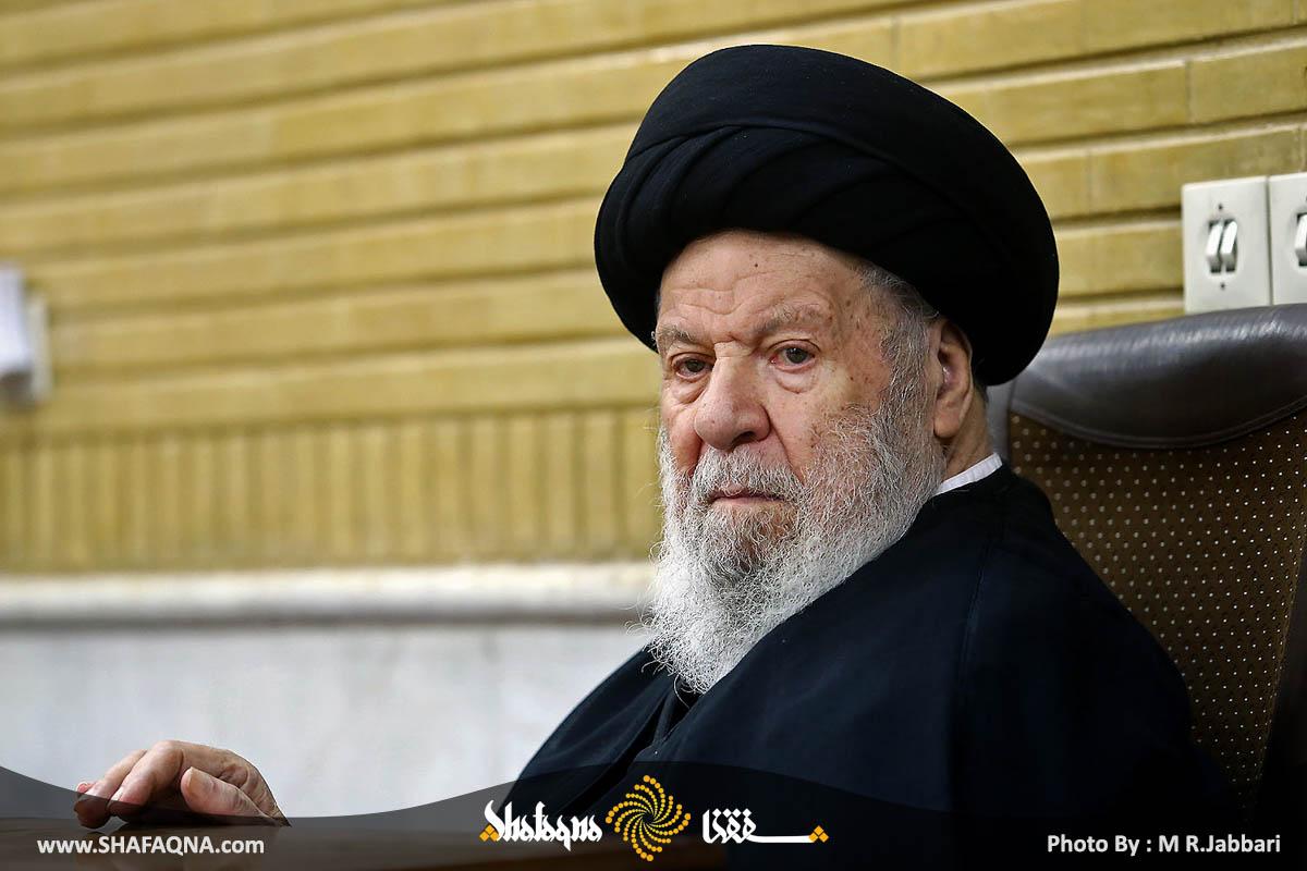 آیت الله العظمی سیدعبدالکریم موسوی اردبیلی