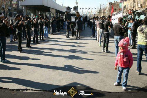 گزارش تصویری: عزاداری زائران امام رئوف در بارگاه مطهر ثامن الحجج