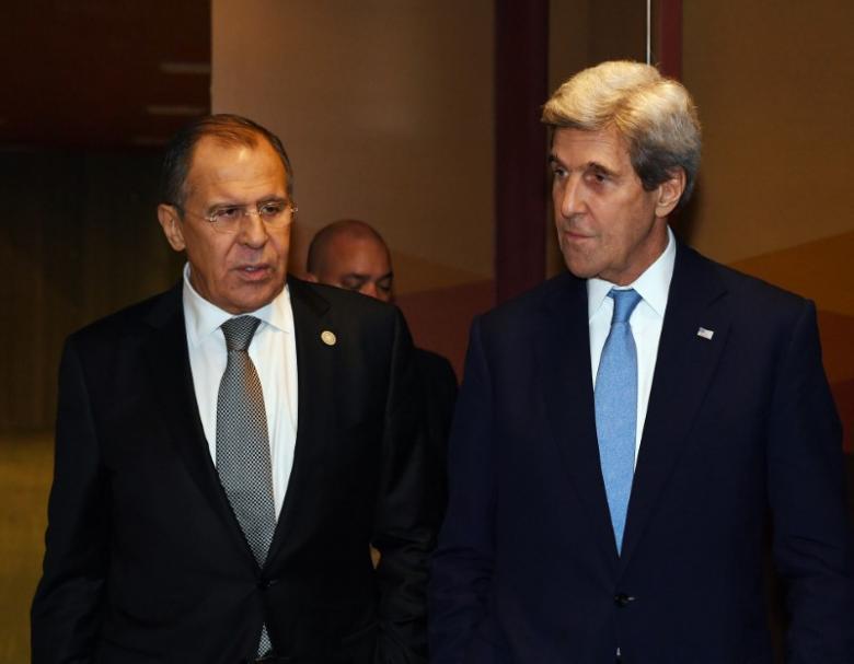 ریانووستی: احتمال دیدار وزرای خارجه آمریکا و روسیه در رم