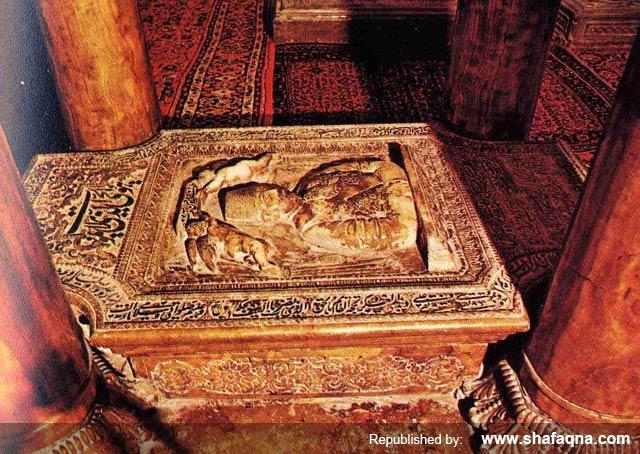 قبر میرزا علی اصغر خان اتابک