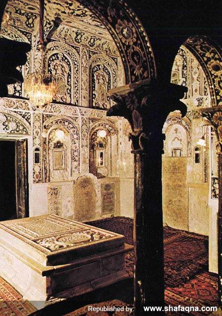 مقبره مهد علیا، مادر شاه عباس اول صفوی