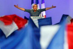 مارین لوپن رهبر جبهه ملی فرانسه