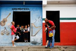 The Wider Image: Kids and teachers ditch school in crisis-hit Venezuela