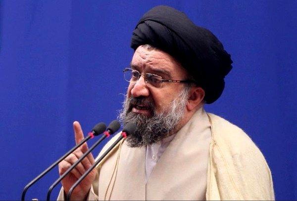 احمد خاتمی:آقایی عمامه بسر گفته دین اسلام حجاب اجباری ندارد/حکم اغتشاشگر اعدام است