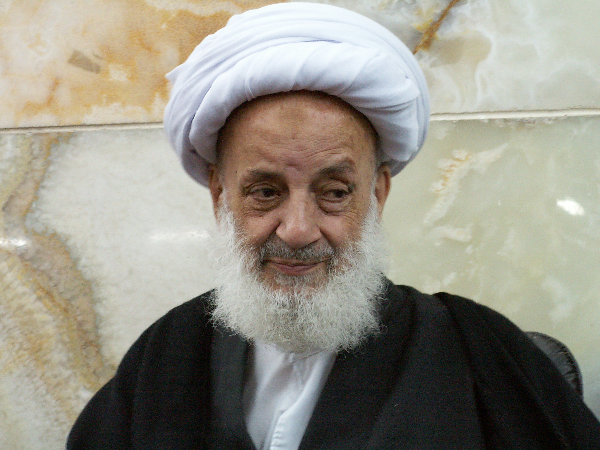 گزارشم از مراسم اربعین ارتحال آیت الله مجتهدی تهرانی