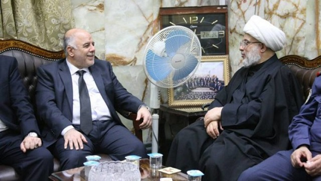 badrnews 1 دیدار نخستوزیر عراق با نماینده آیتالله سیستانی در کربلا+ عکس