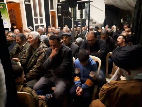 01 29 تصاویر: نمایش مراسم شهادت حضرت زهرا (س) از سوی بیت حضرت آیتالله حکیم در دمشق