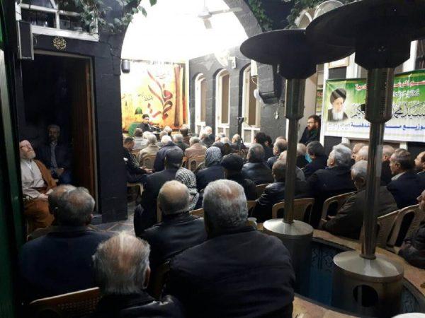 04 14 تصاویر: نمایش مراسم شهادت حضرت زهرا (س) از سوی بیت حضرت آیتالله حکیم در دمشق