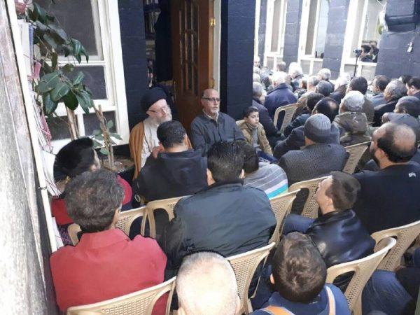 05 9 تصاویر: نمایش مراسم شهادت حضرت زهرا (س) از سوی بیت حضرت آیتالله حکیم در دمشق