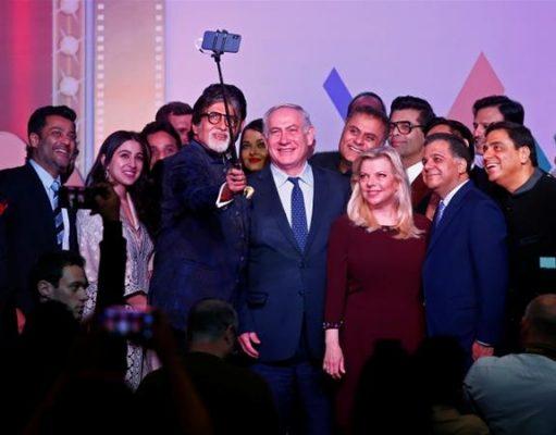 عکس سِلفی «آمیتا باچان» و «آیشواریا رای» با نخستوزیر رژیم صهیونیستی
