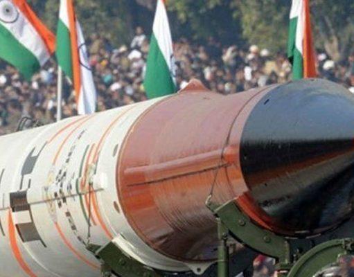 آزمایش موشک بالستیک با توانایی حمل کلاهک هسته ای در هند