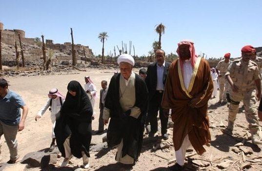 دیدار تاریخی آیت الله هاشمی رفسنجانی از فدک