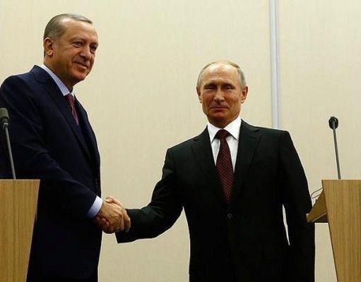 گفت و گوی تلفنی روسای جمهوری ترکیه و روسیه درباره سوریه