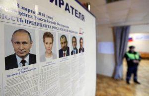 پایان انتخابات در مسکو