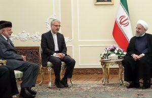 روحانی در دیدار وزیر خارجه عمان: ایران و عمان مسوولیت سنگینی در قبال مسایل منطقه به دوش دارند