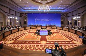 بیانیه اجلاس وزیران خارجه ایران، روسیه و ترکیه در آستانه صادر شد