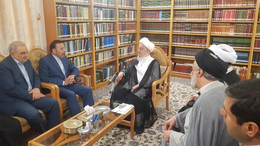 %name آیت الله مکارم شیرازی: هرگونه تضعیف حکومت در شرایط فعلی کاملا خلاف می باشد/ بایستی و حتما حکومت را تقویت کنیم