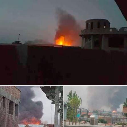 تهاجم گسترده طالبان به مرکز استان غزنی افغانستان