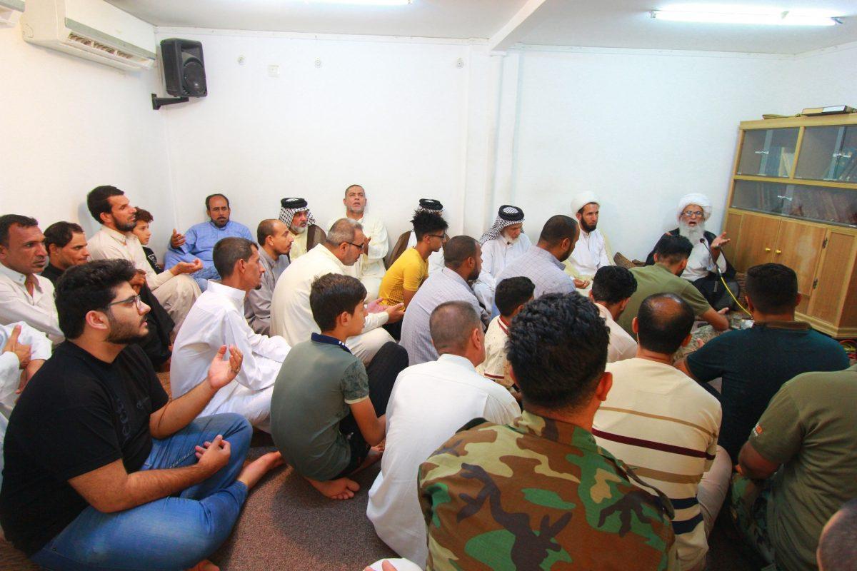 %name واکنش حضرت آیت الله نجفی به تظاهرات عراقی ها و همچنين درخواست تشکیل اقلیم بصره