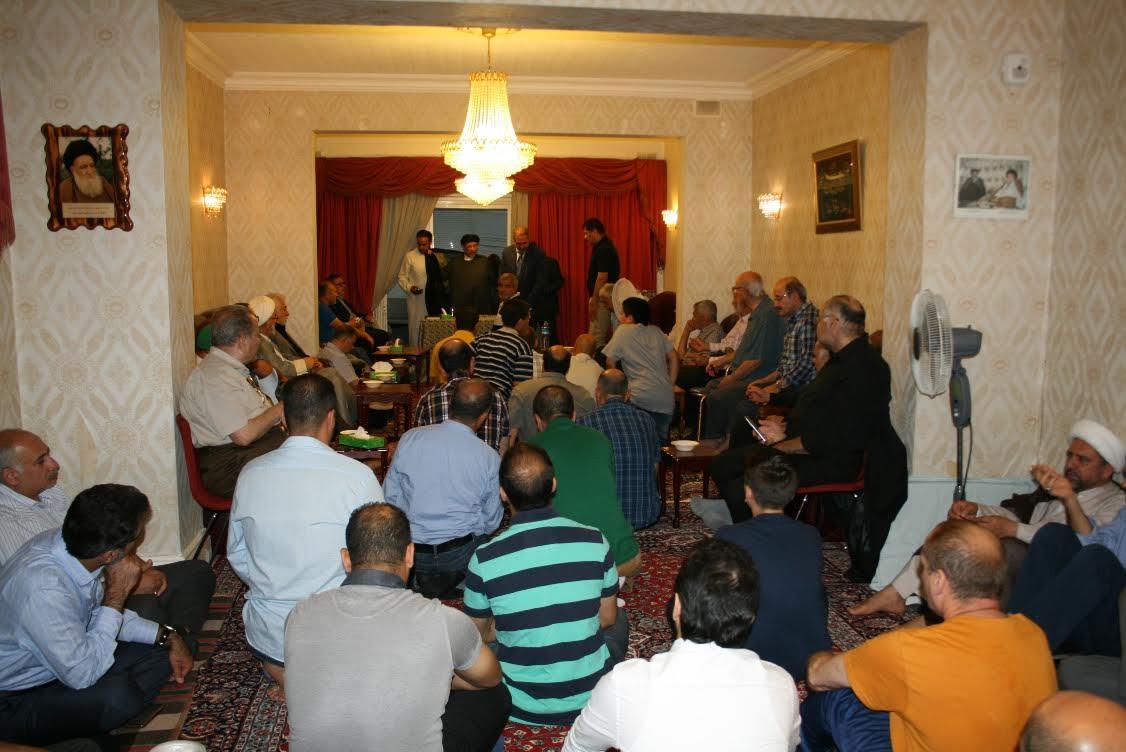 مراسم عزاداری سالروز شهادت امام محمد تقی (ع) در موسسه امام علی (ع) لندن