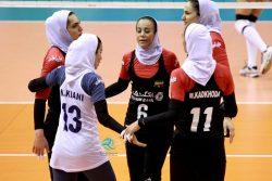 شکست تیم ملی والیبال زنان ایران در مقابل تیم ملی کره جنوبی