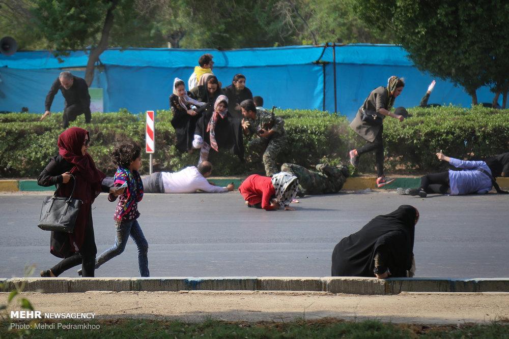تصاویر حمله تروریستی امروز در اهواز