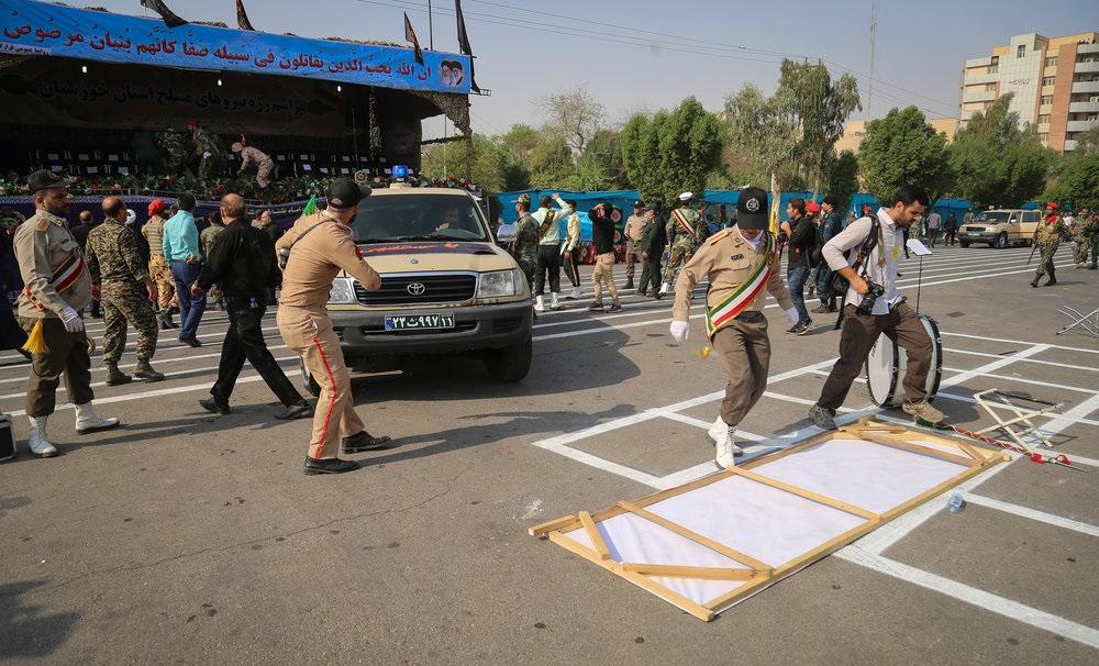 تصاویر حملات امروز اهواز
