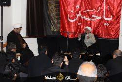گزارش تصویری: مراسم عزاداری روز عاشورا و شام غریبان در موسسه آل البیت(ع) لندن
