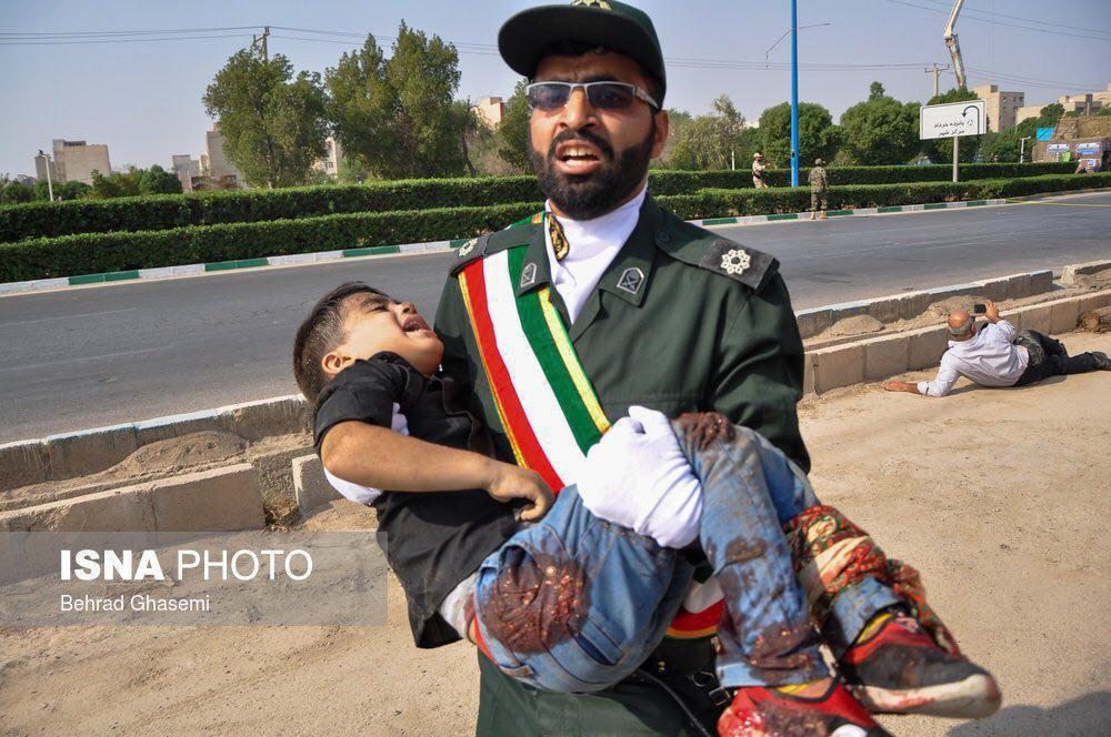تصاویر حادثه تروریستی اهواز امروز