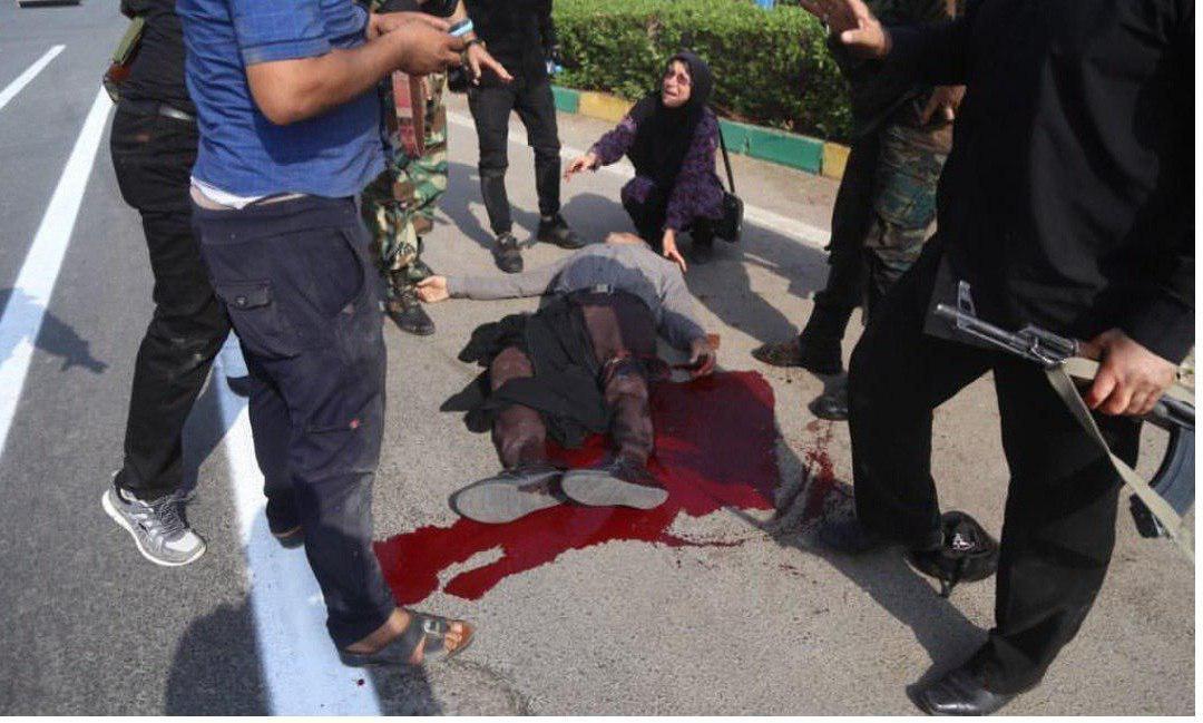 عکس هایی از حادثه امروز اهواز