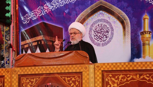 %name انتقاد شدید نماینده حضرت آیت الله سیستانی از گسترش رفتارهای ناپسند در جامعه
