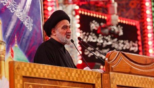 %name نماینده حضرت آیت الله سیستانی: بیش ۱۵ میلیون زائر در زیارت اربعین شرکت کردند/ تاکید بر حل معضل جابجایی زائران