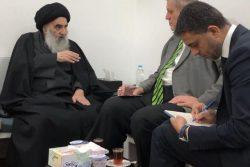 نظر نماینده سابق سازمان ملل درباره حضرت آیت الله سیستانی/ پیام عاطفی «یان کوبیچ» به عراقی ها