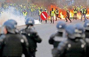 نکاتی درباره ی پوشش خبری اعتراضات فرانسه