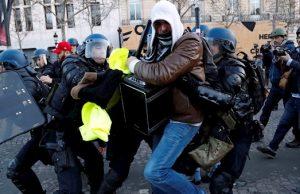 نکته رسانه ای درباره اعتراضات فرانسه