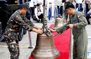 آمریکا ناقوسهایی را که از فیلیپین دزدیده بود بازگرداند+عکس