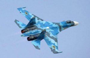 جنگنده اوکراینی در حین فرود دچار حادثه شد