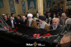 گزارش تصویری : آیین افتتاح فاز دوم حسینیه وزائر سرای قمی ها در مشهد مقدس