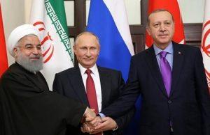 دیدار سه جانبه روحانی، پوتین و اردوغان در مسکو برگزار میشود