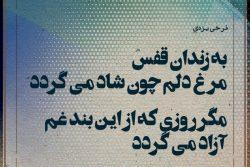 کلمات قصار/ فرخی یزدی: به زندان قفس مرغ دلم چون شاد می گردد …