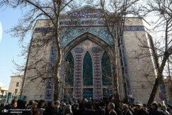 ممانعت از برگزاری مراسم تشییع همسر دکتر شریعتی در حسینیه ارشاد