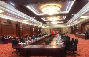 لاریجانی: روابط ایران و چین در طول تاریخ همیشه همراه با دوستی و دو ملت بوده است