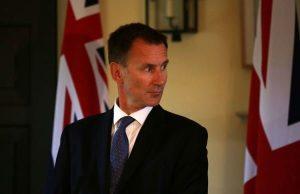 هانت: روابط انگلیس با همسایگانش تا ۲۵ سال آینده در معرض خطر است